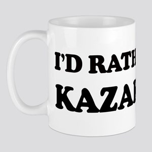 Rather be in Kazakstan Mug