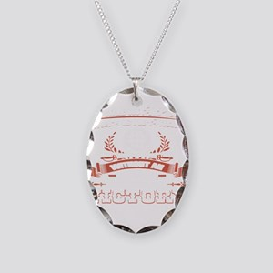 Without A Plan No Attack No Vi Necklace Oval Charm