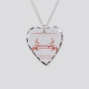Without A Plan No Attack No V Necklace Heart Charm