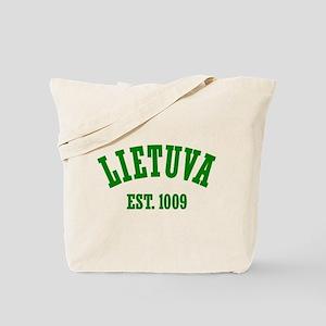 Classic Lietuva Est. 1009 Tote Bag