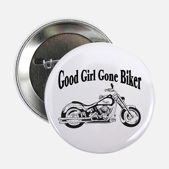 "Good Girl Biker II 2.25"" Button"