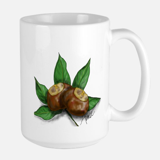 Ohio Buckeye Large Mug