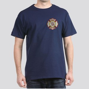 Fire Chief Maltese Dark T-Shirt