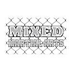 Mixed Martial Arts 35x21 Wall Decal
