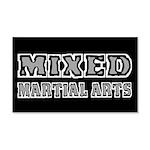 Mixed Martial Arts 20x12 Wall Decal
