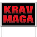 Krav Maga Yard Sign