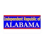 Alabama-2 38.5 x 24.5 Wall Peel
