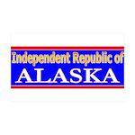 Alaska-2 38.5 x 24.5 Wall Peel