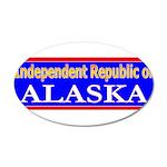 Alaska-2 22x14 Oval Wall Peel