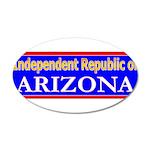 Arizona-2 22x14 Oval Wall Peel