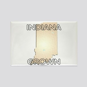 Indiana grown Rectangle Magnet