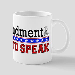 The First Amendment.
