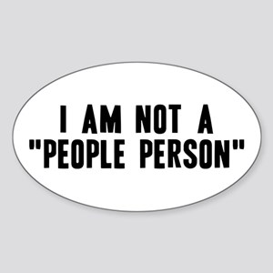 """""""People Person"""" Sticker (Oval)"""