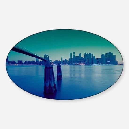 New York City Manhattan Skyline Decal