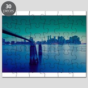 New York City Manhattan Skyline Puzzle