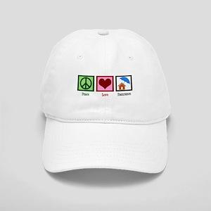Peace Love Insurance Cap