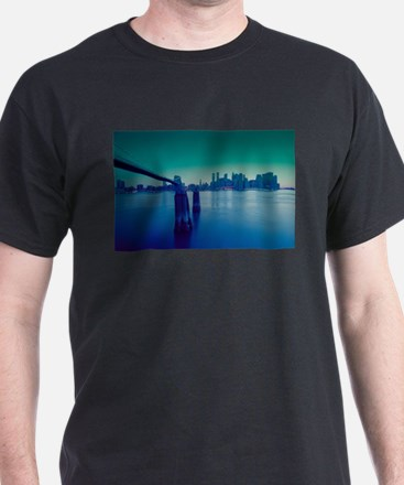 New York City Manhattan Skyline T-Shirt