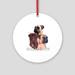Bullmastiff 1 Ornament (Round)