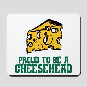 Proud Cheesehead Mousepad