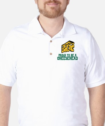 Proud Cheesehead Golf Shirt