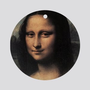 Mona Lisa (detail) Ornament (Round)