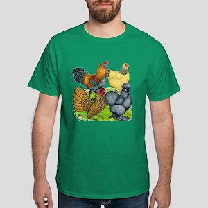 Purebred Bantam Quartet Dark T-Shirt