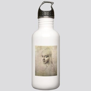 Study of Head of a Girl Stainless Water Bottle 1.0
