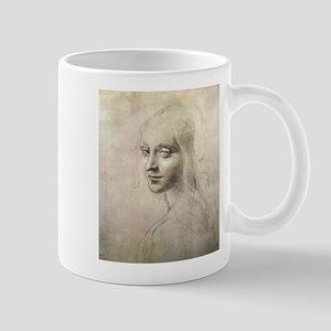 Study of Head of a Girl Mug
