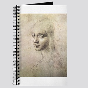 Study of Head of a Girl Journal