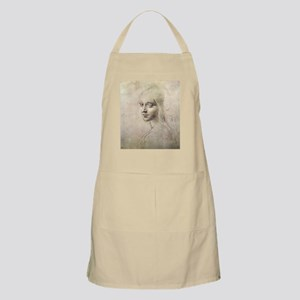 Study of Head of a Girl Apron
