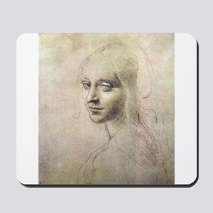 Study of Head of a Girl Mousepad