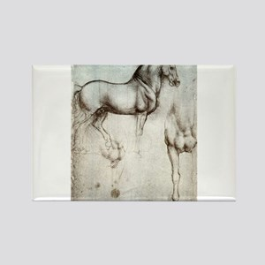 Study of Horses Rectangle Magnet