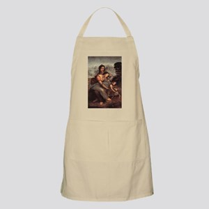The Virgin and Child with St Apron