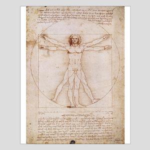 Vitruvian Man Small Poster