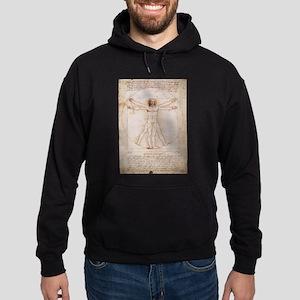 Vitruvian Man Hoodie (dark)