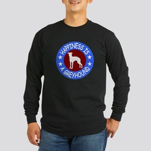 Greyhound Long Sleeve Dark T-Shirt