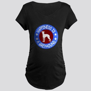 Greyhound Maternity Dark T-Shirt