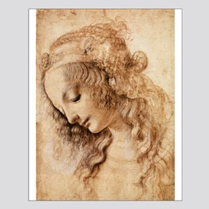 Womans Head Small Poster
