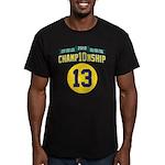 2010 Champ10nship 13 Men's Fitted T-Shirt (dark)