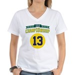 2010 Champ10nship 13 Women's V-Neck T-Shirt