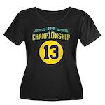 2010 Champ10nship 13 Women's Plus Size Scoop Neck