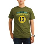 2010 Champ10nship 13 Organic Men's T-Shirt (dark)