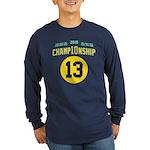 2010 Champ10nship 13 Long Sleeve Dark T-Shirt