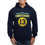 2010 Champ10nship 13 Hoodie (dark)