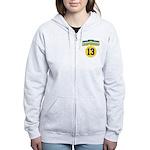 2010 Champ10nship 13 Women's Zip Hoodie