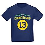 2010 Champ10nship 13 Kids Dark T-Shirt