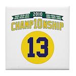 2010 Champ10nship 13 Tile Coaster