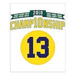 2010 Champ10nship 13 Small Poster