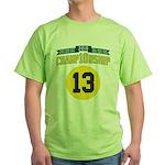 2010 Champ10nship 13 Green T-Shirt