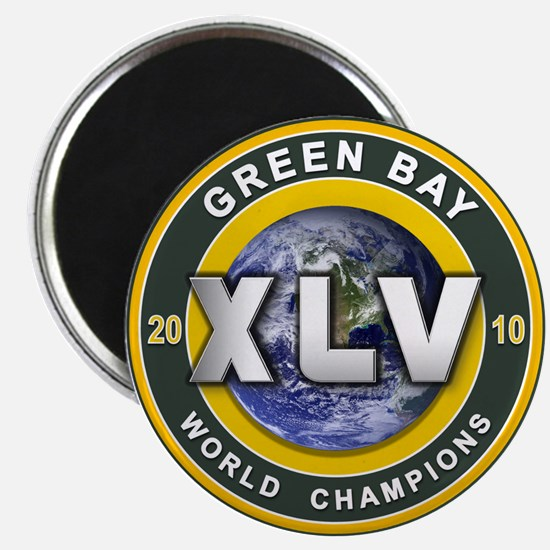 Green Bay 2010 World Champs Magnet